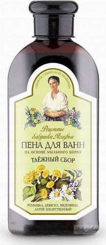 Agafia - Recipes Babuszki Agafii - Herbal bath foam - 500 ml