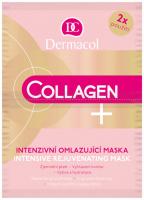 Dermacol - Collagen + Intensive Rejuvenating Mask - Intensywnie odmładzająca maseczka do twarzy - 2x8g