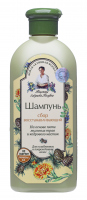Agafia - Receptury Babuszki Agafii - Regenerujący szampon do włosów suchych i zniszczonych - 350 ml
