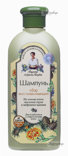 Agafia - Recipes Babuszki Agafii - Regenerating shampoo for dry and damaged hair - 350 ml