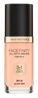 Max Factor - FACE FINITY ALL DAY FLAWLESS - Produkt 3 w 1. Baza, korektor i podkład - 40 - LIGHT IVORY - 40 - LIGHT IVORY