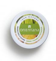 ORIENTANA - CLAY MASK - Maseczka z glinki do cery mieszanej - Imbir i Trawa Cytrynowa - 50g