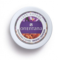ORIENTANA - CLAY MASK - Clay mask for normal and dry skin - Almond and Saffron - 50g