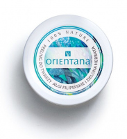 ORIENTANA - Natural Gel Face Scrub - Natural gel peeling for oily and combination skin - Philippine Algae and Green Tea - 50g