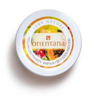 ORIENTANA - Natural Gel Face Scrub - Naturalny żelowy peeling do twarzy - Papaja i Żeń-Szeń Indyjski - 50g