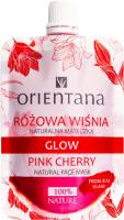 ORIENTANA - GLOW - NATURAL FACE MASK - PINK CHERRY - Naturalna maseczka - Różowa wiśnia - 30 ml