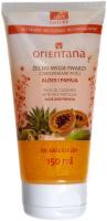 ORIENTANA - FACE GEL CLEANSER WITH RICE PARTICLES - ALOE AND PAPAYA - Żel do mycia twarzy z drobinkami ryżu - Aloes i papaja - 150 ml