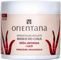 ORIENTANA - Oriental rich body butter - Japanese rose and lychee