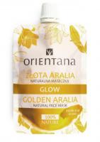 ORIENTANA - GLOW - NATURAL FACE MASK - GOLDEN ARALIA - Naturalna maseczka - Złota Aralia - 30 ml