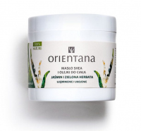 ORIENTANA - Shea butter and body oils - Jasmine and green tea