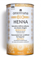 ORIENTANA - BIO HENNA - Natural plant conditioner for long hair - Colorless - 100g