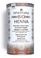 ORIENTANA - BIO HENNA - 100% Natural long hair dye - Hazelnut - 100g