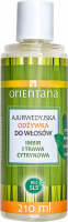 ORIENTANA - AYURVEDIC HAIR CONDITIONER - GINGER & LEMONGRASS - Ayurvedic hair conditioner - Ginger and lemongrass - 210 ml