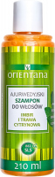 ORIENTANA - AYURVEDIC HAIR SHAMPOO - GINGER & LEMONGRASS - Ayurvedic hair shampoo - Ginger and lemongrass - 210 ml