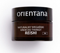 ORIENTANA - Natural Vegan Face Night Cream - Natural vegan face cream for the night - Reishi & Fu Ling - 50 ml