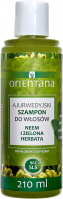 ORIENTANA - AYURVEDIC HAIR SHAMPOO - NEEM & GREEN TEA - Ayurvedic hair shampoo - Neem and green tea - 210 ml