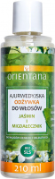 ORIENTANA - AYURVEDIC HAIR CONDITIONER - JASMINE & INDIAN ALMOND - Ajurwedyjska odżywka do włosów - Jaśmin i migdałecznik - 210 ml