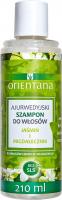 ORIENTANA - AYURVEDIC HAIR SHAMPOO - JASMINE & INDIAN ALMOND - Ajurwedyjski szampon do włosów - Jaśmin i migdałecznik - 210 ml