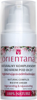 ORIENTANA - NATURAL COMPLEX BIO EYE CREAM - Natural comprehensive bio eye cream - Regenerating and rejuvenating - Day & Night - 15 ml