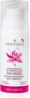 ORIENTANA - KALI MUSLI - SOOTHING FACE TERAPHY - Soothing face treatment at night - 50 ml