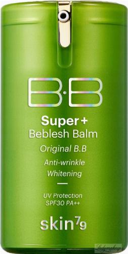 Skin79 - Super+ Beblesh Balm - Matujący krem BB do cery tłustej i mieszanej - SPF30 PA++ Green