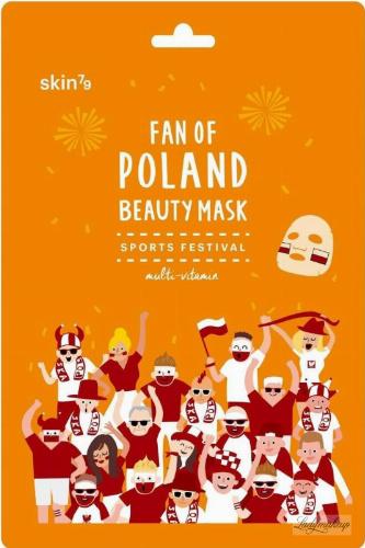 Skin79 - FAN OF POLAND BEAUTY MASK - Rozjaśniająca, multiwitaminowa maska do twarzy w płacie - SPORTS FESTIVAL - 25 ml