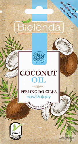Bielenda - Coconut Oil - Moisturizing Body Scrub - Body peeling - Moisturizing - 30g