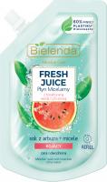 Bielenda - Micellar Care - Fresh Juice - Kojący płyn micelarny do cery odwodnionej - Arbuz - WKŁAD - 45 ml