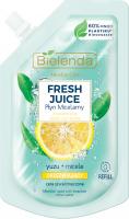 Bielenda - Micellar Care - Fresh Juice - Orzeźwiający płyn micelarny do cery szarej i zmęczonej - Yuzu - WKŁAD - 45 ml