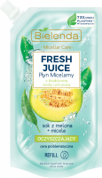 Bielenda - Micellar Care - Fresh Juice - Cleansing micellar fluid for problem skin - Melon - INSERT - 500 ml