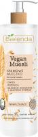 Bielenda - Vegan Muesli - Moisturizing Face Cleansing Milk - Kremowe mleczko do mycia twarzy - Nawilżające - 175g