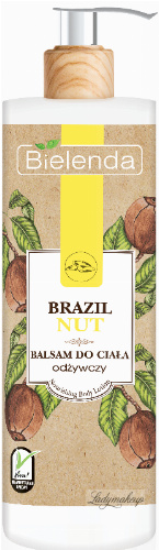 Bielenda - Brazil Nut - Nourishing Body Lotion - Nourishing Body Lotion - 400 ml