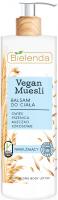 Bielenda - Vegan Muesli - Moisturizing Body Lotion - Nawilżający balsam do ciała - Mleko Kokosowe - 400 ml
