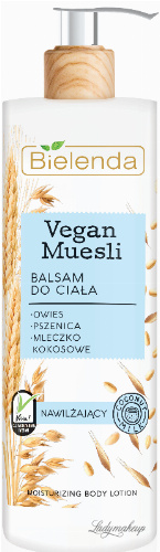 Bielenda - Vegan Muesli - Moisturizing Body Lotion - Moisturizing body lotion - Coconut Milk - 400 ml