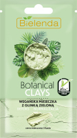 Bielenda - Botanical Clays - Vegan Face Mask - Vegan green clay mask - Mixed and oily skin - 8 g