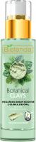 Bielenda - Botanical Clays - Vegan Serum Booster - Wegańskie serum do twarzy z zieloną glinką - Cera mieszana i tłusta - 30 ml