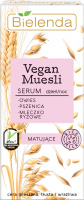 Bielenda - Vegan Muesli Serum - Mattifying serum for combination, oily and sensitive skin - 30 ml