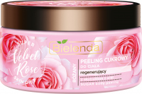 Bielenda - Super Skin Diet - Rose Sugar Body Scrub - Regenerating sugar body scrub - Velvet Rose - 350 g