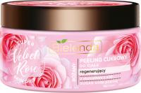 Bielenda - Super Skin Diet - Rose Sugar Body Scrub - Regenerating sugar body scrub - Velvet Rose - 350 g