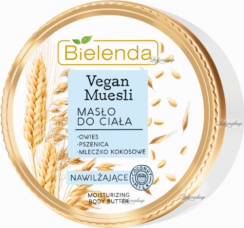 Bielenda - Vegan Muesli - Moisturizing Body Butter - Moisturizing, vegan body butter - 250 ml
