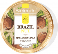 Bielenda - BRAZIL NUT - Nourishing Body Butter - Odżywcze i wegańskie masło do ciała - Brazylijskie orzechy - 250 ml