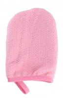 LashBrow - Rękawica do demakijażu - Różowa - Standard