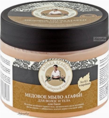 Agafia - Bania Agafii - Honey body and hair soap - 300 ml