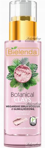 Bielenda - Botanical Clays - Vegan Serum Booster - Vegan pink clay serum - Dry and dehydrated skin - 30 ml