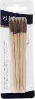 KillyS - Drewniane patyczki do manicure - 5 sztuk - Brązowe