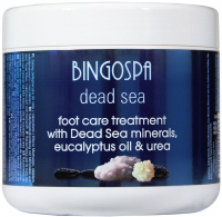 BINGOSPA - Foot Care Treatment - Foot treatment with Dead Sea minerals - 600 g