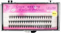 LELANI - Silk Green Eyelash Product - Jedwabne kępki sztucznych rzęs - Standard - SC-2011