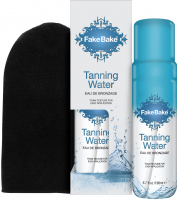 Fake Bake - TANNING WATER - Foam tanner with glove - 198 ml