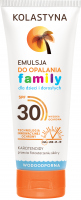 KOLASTYNA - Family - Sun lotion for children and adults - SPF30 - 250 ml