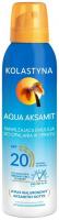 KOLASTYNA - Aqua Aksamit - Nawilżająca emulsja do opalania w sprayu - SPF20 - 150 ml